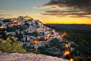 Sunrise over Gordes.